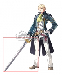The Legend of Heroes - Hajimari no Kiseki Jusis Albarea Cosplay Weapon Prop