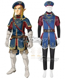 The Legend of Zelda: Breath of the Wild Link Royal Guard DLC Cosplay Costume