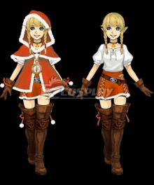 The Legend of Zelda: Breath of the Wild Linkle Christmas Cosplay Costume