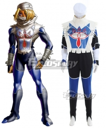 The Legend of Zelda: Ocarina of Time Sheik Cosplay Costume