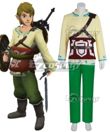 The Legend of Zelda Skyward Sword Skyloft Link Cosplay Costume