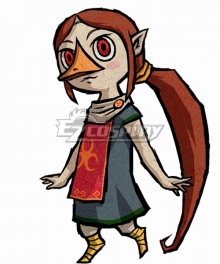 The Legend of Zelda: The Wind Waker HD Medli Cosplay Costume