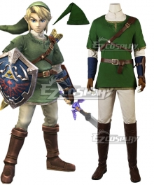 The Legend of Zelda Twilight Princess Link Cosplay Costume - A Edition