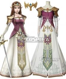 The Legend Of Zelda Zeruda No Densetsu Twilight Princess Princess Of Hyrule Zelda Zeruda Hime Cosplay Costume
