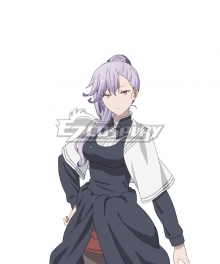 The Misfit of Demon King Academy Maou Gakuin Emilia Ludowell Purple Cosplay Wig