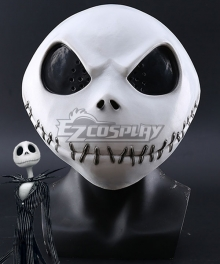 The Nightmare Before Christmas Jack Halloween Mask Cosplay Accessory Prop