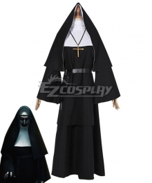 The Nun 2018 Horror Moive Halloween Trailer Valak Sister Cosplay Costume