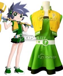 The Powerpuff Girls Z Buttercup Kaoru Matsubara Cosplay Costume