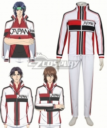 The Prince of Tennis II Seiichi Yukimura Shusuke Fuji Keigo Atobe White Cosplay Costume