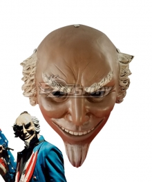 The Purge: Election Year Cosplay Uncle Sam Halloween Mask Cosplay Accessory Prop