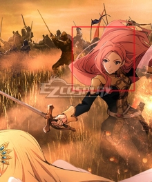 The Rising Of The Shield Hero Eclair Seaetto Pink Cosplay Wig