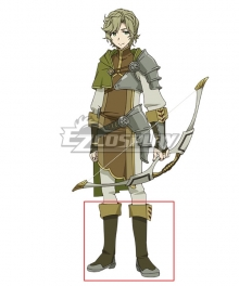 The Rising of the Shield Hero Itsuki Kawasumi Green Shoes Cosplay Boots