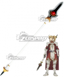 The Rising of the Shield Hero Motoyasu Kitamura Spear Cosplay Weapon Prop