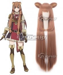 The Rising of the Shield Hero Raphtalia Light Grown Cosplay Wig