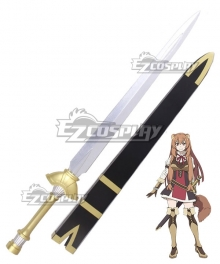 The Rising of the Shield Hero Raphtalia Sword and Scabbard Cosplay Weapon Prop