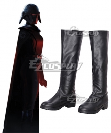 Star Wars Jedi: Fallen Order Trilla Suduri The Second Sister Black Shoes Cosplay Boots