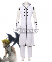 The Seven Deadly Sins: Kamigami no Gekirin Meliodas White Cosplay Costume