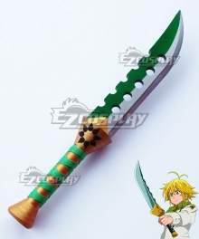 The Seven Deadly Sins: Revival Of The Commandments Nanatsu No Taizai Meliodas Lost Bane Sword Cosplay Weapon Prop