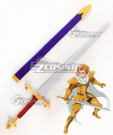 The Seven Deadly Sins: Revival Of The Commandments Nanatsu No Taizai Season 2 Arthur Pendragon Sword Cosplay Weapon Prop