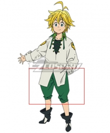 The Seven Deadly Sins: Revival Of The Commandments Nanatsu No Taizai Season 2 Dragon's Sin Dragon's Sin Of Wrath Meliodas Cosplay Costume - Only Short