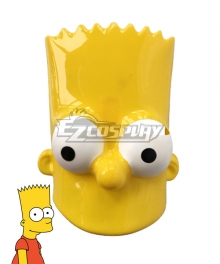 The Simpsons Bart Simpson Mask Cosplay Accessory Prop
