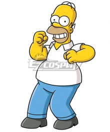 The Simpsons Homer J Simpson Cosplay Costume