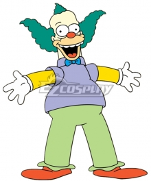 The Simpsons Krusty the Clown Cosplay Costume