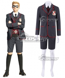 The Umbrella Academy School Uniform Male Cosplay Costume