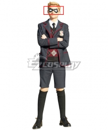 The Umbrella Academy School Uniform Mask Cosplay Accessory Prop
