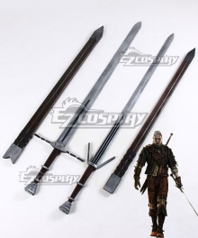 The Witcher 3: Wild Hunt Geralt Of Rivia Two Swords Cosplay Weapon Prop