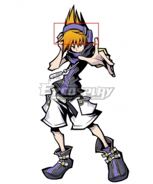 The World Ends With You: Final Remix Neku Sakuraba Headphones Cosplay Accessory Prop