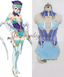 Tiger & Bunny Blue Rose Cosplay Costume