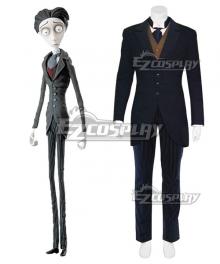 Tim Burton's Corpse Bride Victor Van Dort Cosplay Costume