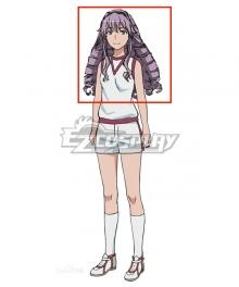 Toaru Kagaku no Railgun T Hokaze Junko Purple Cosplay Wig