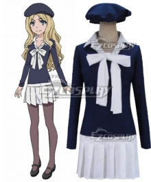 Toaru Majutsu no Index Frenda Seivelun Cosplay Costume