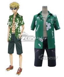 Toaru Majutsu no Index Tsuchimikado Motoharu Cosplay Costume