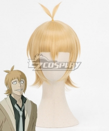 Tokyo Ghoul: re Tokyo Guru Ginshi Shirazu Yellow Brown Cosplay Wig