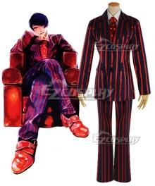 Tokyo Ghoul: Re Tokyo Guru Shuu Tsukiyama Purple Suit Cosplay Costume