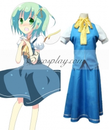 Touhou Project Daiyousei cosplay costume