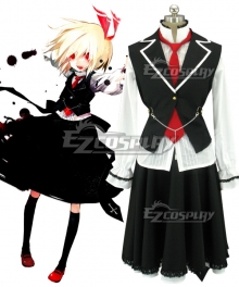 Touhou Project Embodiment of Scarlet Devil Rumia Cosplay Costume
