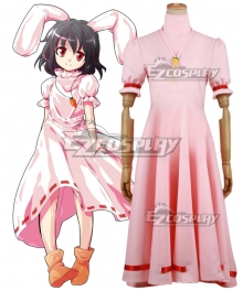 Touhou Project Inaba Tewi Cosplay Costume