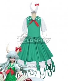Touhou Project Kamishirasawa Keine Half Beast Version Cosplay Costume