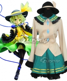Touhou Project Komeiji Koishi Cosplay Costume