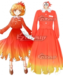 Touhou Project Mountain of Faith Shizuha Aki Cosplay Costume