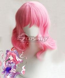 Touhou Project Saigyouji Yuyuko Pink Cosplay Wig