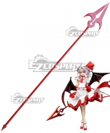 Touhou Project Vampire Remilia Scarlet Spear Cosplay Weapon Prop