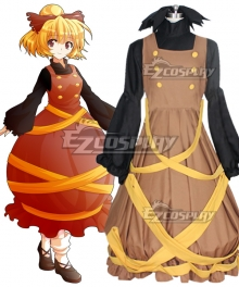Touhou Project Yamame Kurodani Cosplay Costume