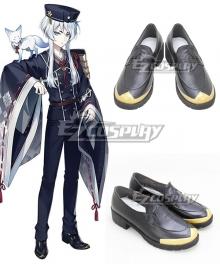 Touken Ranbu Hakusan Yoshimitsu Black Cosplay Shoes