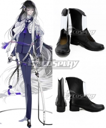 Touken Ranbu Online Juuzumaru Tsunetsugu Black White Cosplay Shoes