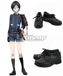 Touken Ranbu Online Yagen Toushirou Black Cosplay Shoes